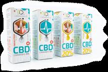 Cannerald Premium CBD Öl in verschiedenen Geschmacksrichtungen